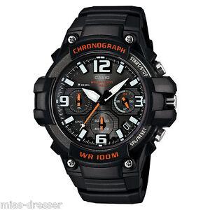 casio mens mcw 100h 1av heavy duty chronograph digital