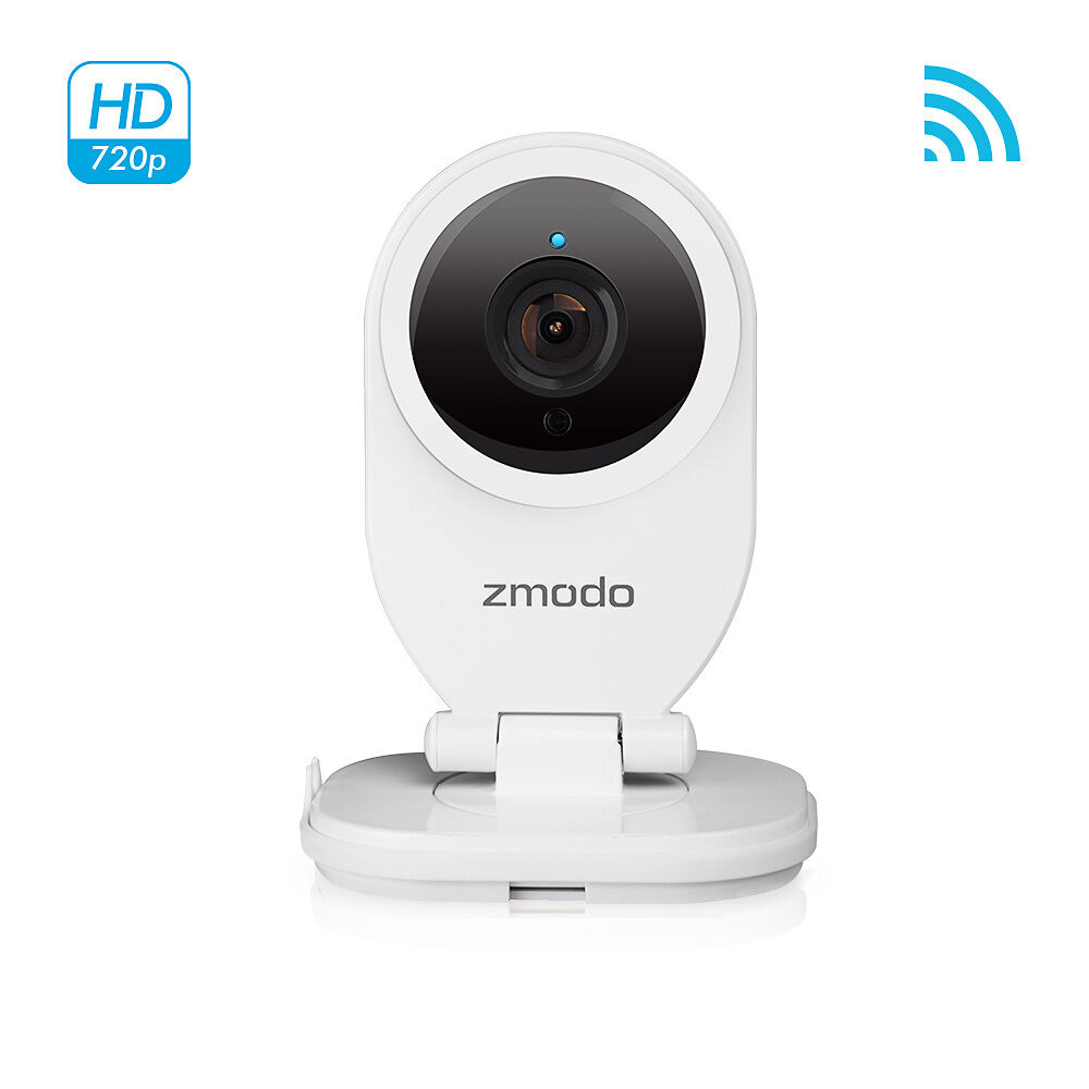 zmodo 720p hd wireless ip network indoor ir security camera two way audio. Black Bedroom Furniture Sets. Home Design Ideas