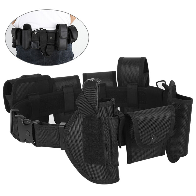 Tactical Belt Law Enforcement Utility Modular Duty Police Security Guard Belt