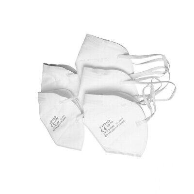 25 Stück CE 0370 geprüft FFP3 Atemschutz Mundschutzmaske Schutzmaske Gummiband