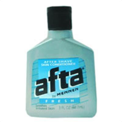 - Afta after shave skin conditioner by Mennen, fresh - 3 oz
