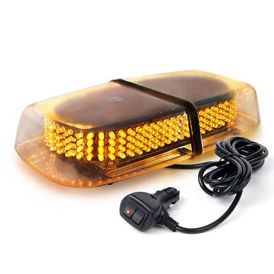 "12"" 240 LED Car Truck Roof Top Emergency Hazard Warning Flash Strobe Light Amber"