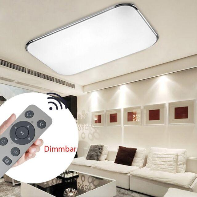 48W 72W LED Dimmbar Deckenlampe Deckenleuchte Wandlampe Wohnzimmer Badleuchte