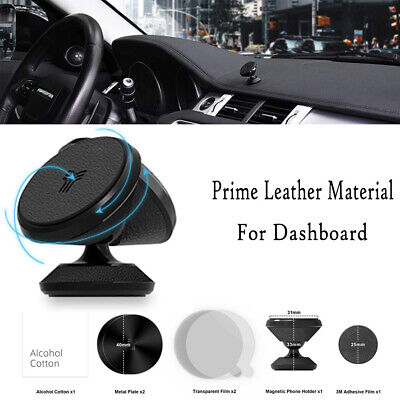 YOSH Magnetic Car Phone Holder In Car Dashboard Mount iPhone 7 7P X 11 Samsung S