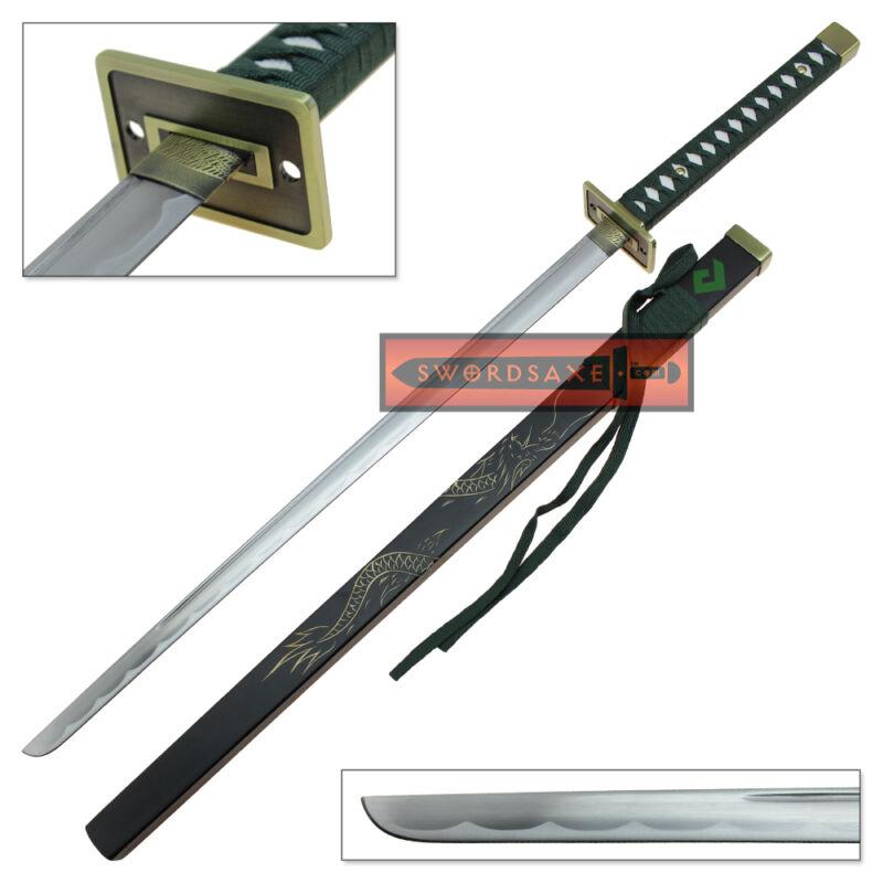 Overwatch Katana Genji Sword WHITE//RED Dragonblade Cybernetic Warrior Steel OW