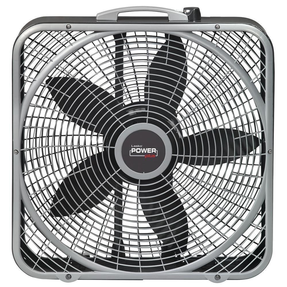 20 inch power plus box fan power