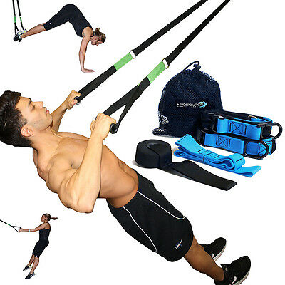 Kinetic Bands Body Weight Training Kit Sports and Fitness Strength Power Toning ()
