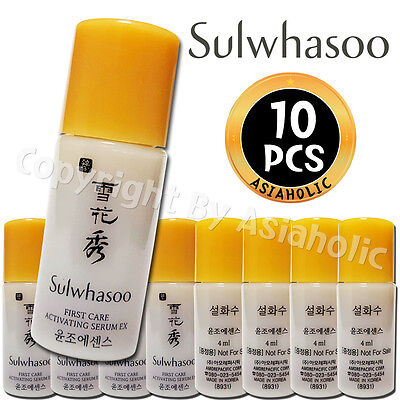 Sulwhasoo First Care Activating Serum EX 4ml x 10pcs (40ml) Sample AMORE PACIFIC
