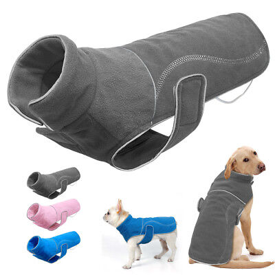 Dog Clothes for Big Dogs Outdoor Jacket Reflective Fleece Coats Doggie Costume