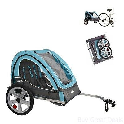 d58d7b8db34 Bicycle Trailers Stroller Carrier Child Baby Pet Dog Cargo Seat Canopy  Screen
