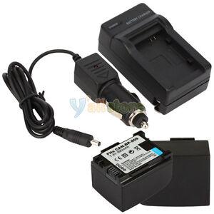 2-Battery-Charger-For-Canon-BP-819-HF10-HF100-Vixia