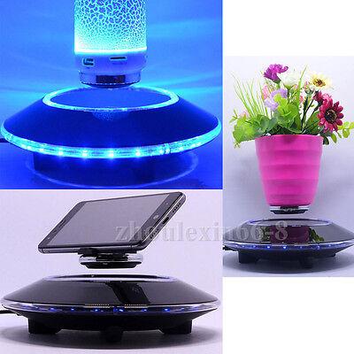 Magnetic Levitation Floating Rotating Holder Stand Display Showcase Decor Gift