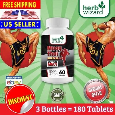 #1 BEST - TESTOSTERONE BOOSTER FOR MEN - Muscle Building Supplement - 180 (Best Muscle Building Testosterone Supplement)