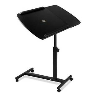 Rotating Mobile Laptop Adjustable Desk w/ USB Cooler Black Silverwater Auburn Area Preview