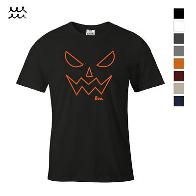 BOO HALLOWEEN FUNNY PRINT T SHIRT NOVELTY GRAPHIC SHIRTS IDEA DESIGN TEE GIFT