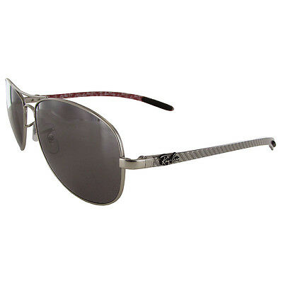 e8f564afef Ray Ban Mens RB8301 Polarized Aviator Sunglasses