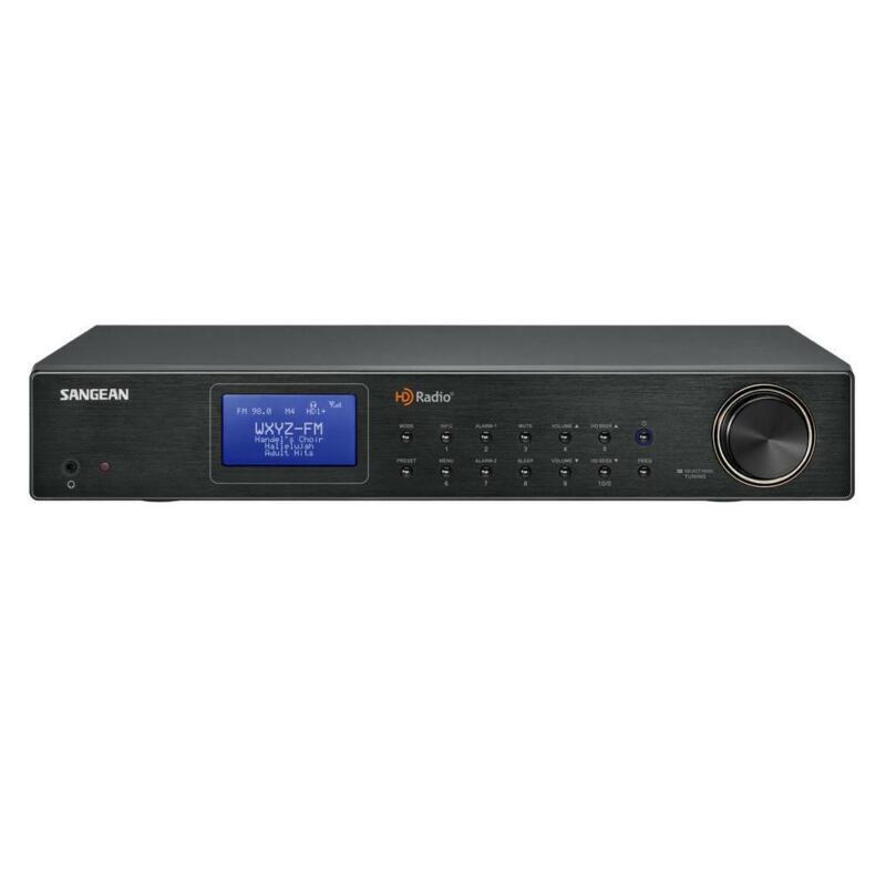 Sangean FM AM HD Radio Digital Tuner Stereo 20 Memory Preset