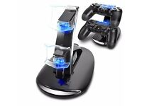 ps4 dual led charging stand