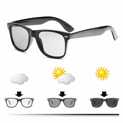 New Transition Polarized Lens Photochromic Photochromatic Sunglasses Clear (Tinted Sunglasses For Men)