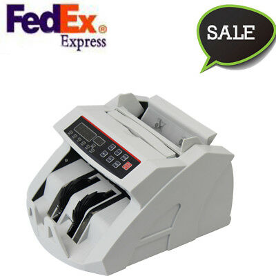Usportable Money Bill Counter Counting Machine Counterfeit Detector Uvmg Cash