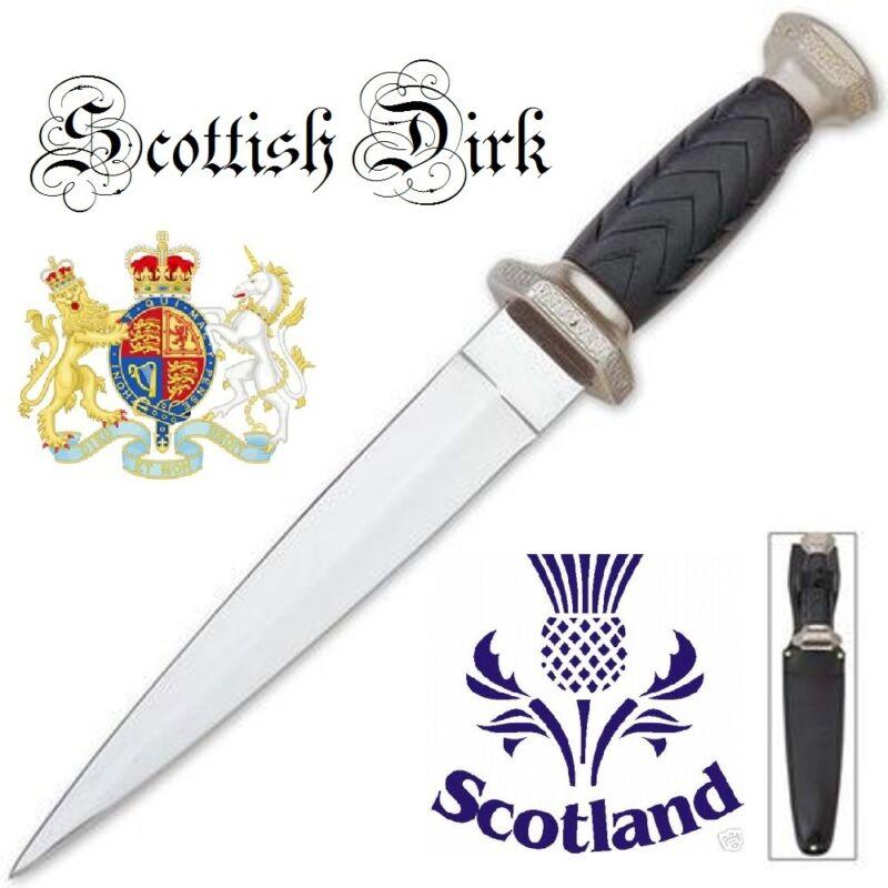 Celtic Scottish Dirk SGIAN DUBH DAGGER Knife NEW Scotland Kilt BKHK5658