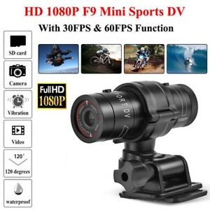 Full HD 1080P DV Mini Waterproof Sport Camera Helmet Bike Action DVR Cam Video