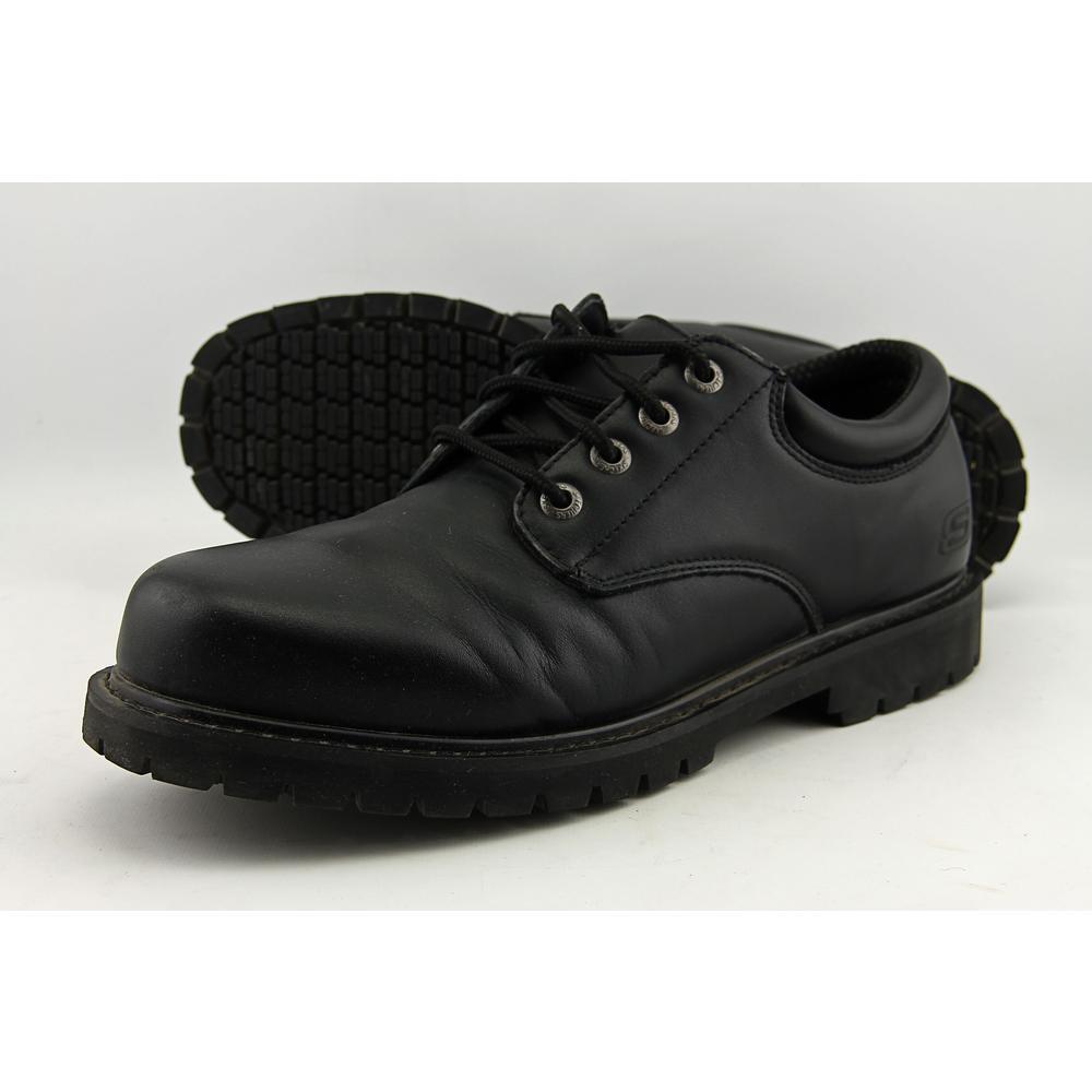 751572b6f0e Skechers Cottonwood - Elks Men US 10.5 Black Work Shoe Pre Owned ...