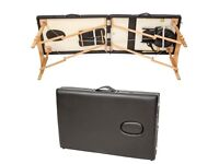 Massage Table - TecTake deluxe fold-up portable, virtually new condition
