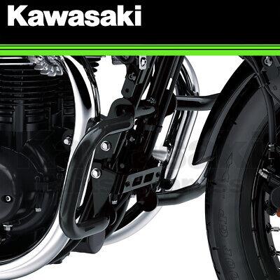 NEW 2019-2021 GENUINE KAWASAKI W800 CAFE BLACK ENGINE GUARD KIT 99994-1222