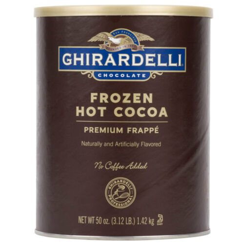 Ghirardelli 3.12 lb. Frozen Hot Chocolate Frappe Mix