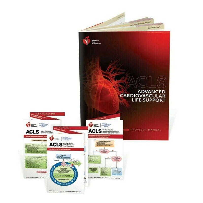 ACLS Provider Manual 2020 E bo0k & Cards