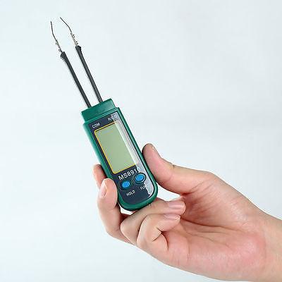 Ms8910 Smart Smd Rc Resistance Capacitance Diode Meter Tester Tweezers Auto Scan