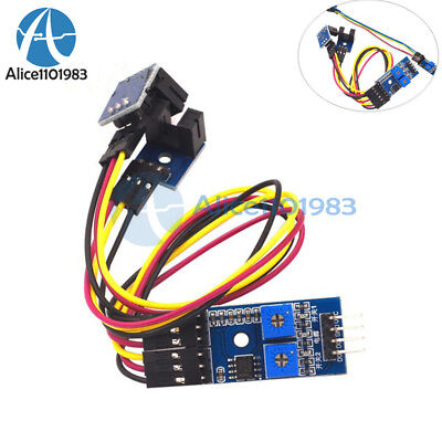 2-channel Speed Detection Optical Motor Sensor Groove Coupler Counting Module