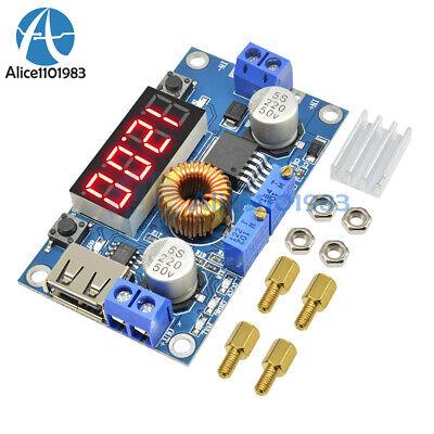 Top 5a Cc Cv Led Drive Lithium Charger Power Step-down Module W Usb Voltmeter