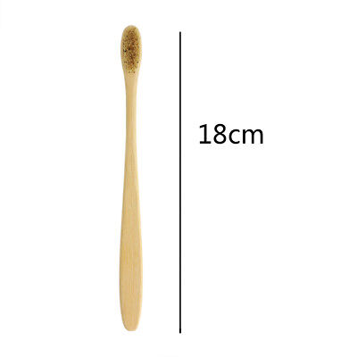 (1/5/10X Eco-Friendly Designed Natural Bamboo Toothbrush Brush Teeth Cleaning)
