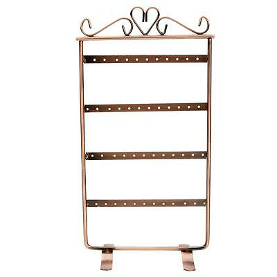 New Earrings Stud 48 Hole Show holder Jewelry Display Stand For Retail Cupreous