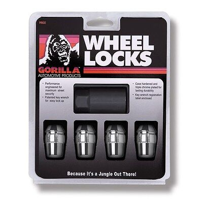 4 Pc HONDA ACCORD GORILLA LOCKING LUG NUTS CUSTOM WHEEL LOCKS #
