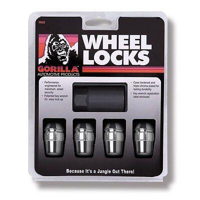 4 Pc HONDA ACCORD GORILLA LOCKING LUG NUTS CUSTOM WHEEL LOCKS # 71431N