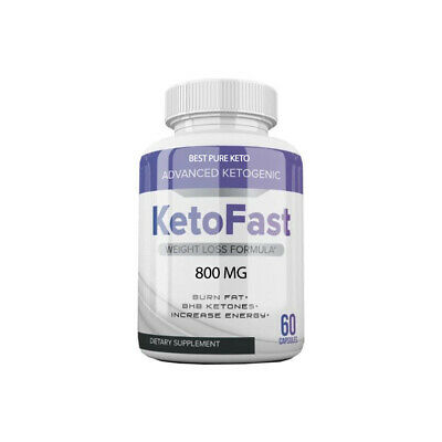 Keto Fast Keto Pills Best Weight Loss Diet Pills Ketogenic Supplement BHB 60