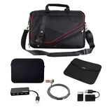 New Toshiba Messenger Bag Backpack with Accessories Bundle  - Blowout sale