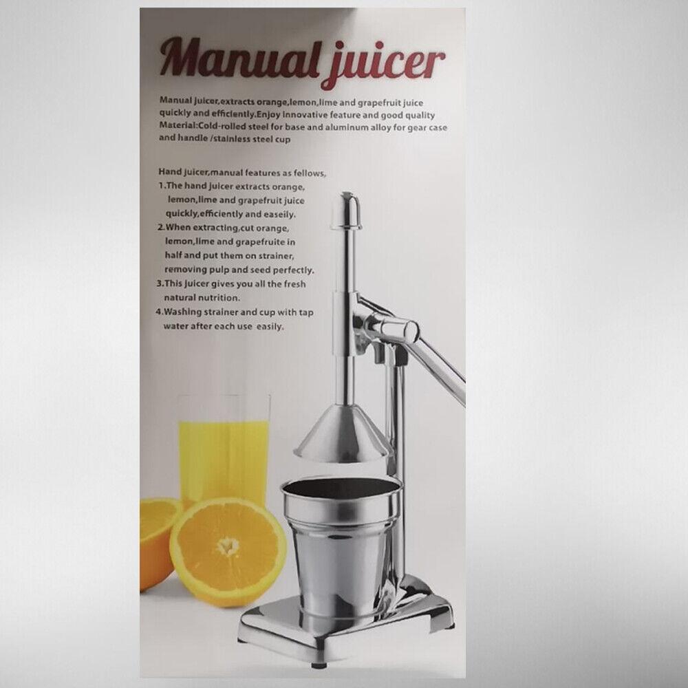 SpremiAgrumi Manuale Per Estrazione Succo Arancia Spremute Aiuto Cucina Casa