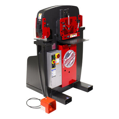 Edwards Iw501p230 230v 1-phase Jaws Series 50-ton Ironworker New