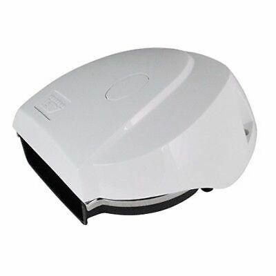AFI Miniblast Compacto Eléctrico Barco Bocina 12V Marina 10099 Blanco Md
