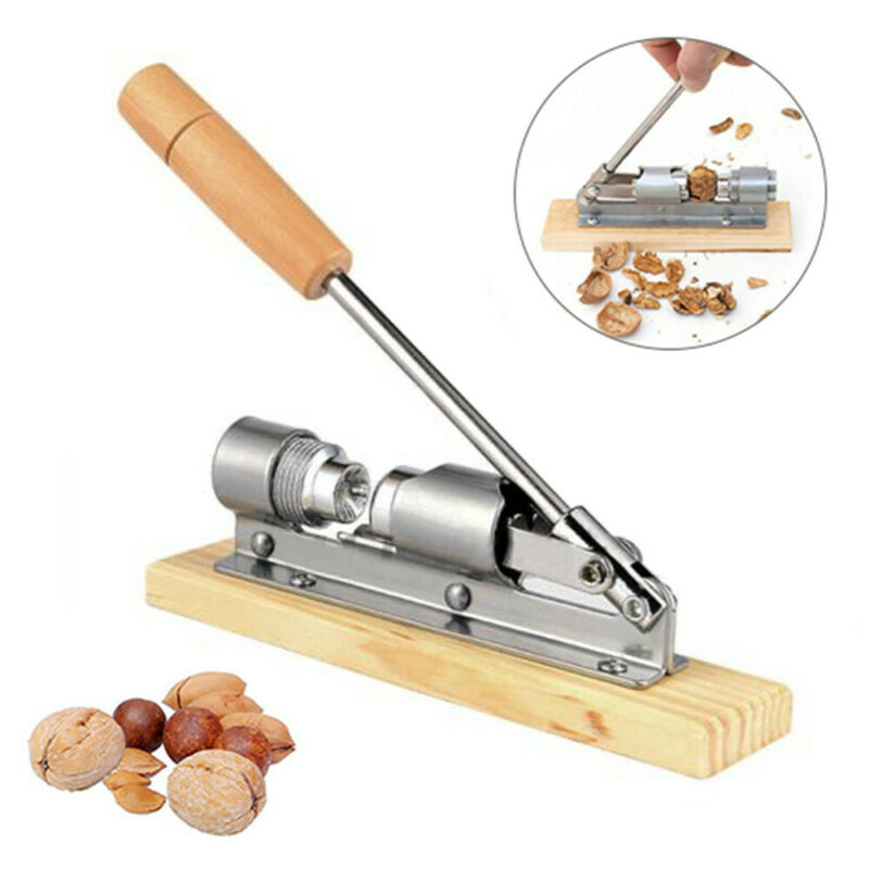 Nut Cracker Tool Pecan Walnut Sheller Nut Opener Metal Kitch