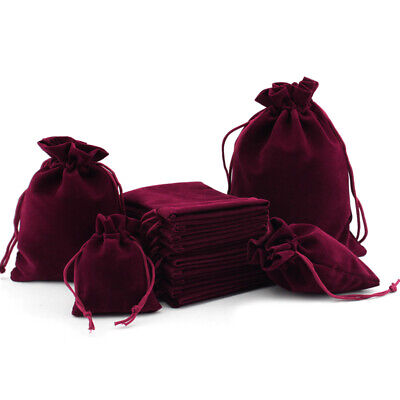200Pc Velvet Bags Jewelry Wedding Party Favors Gift Drawstring Pouches Wholesale Bridal Party Gift Bags