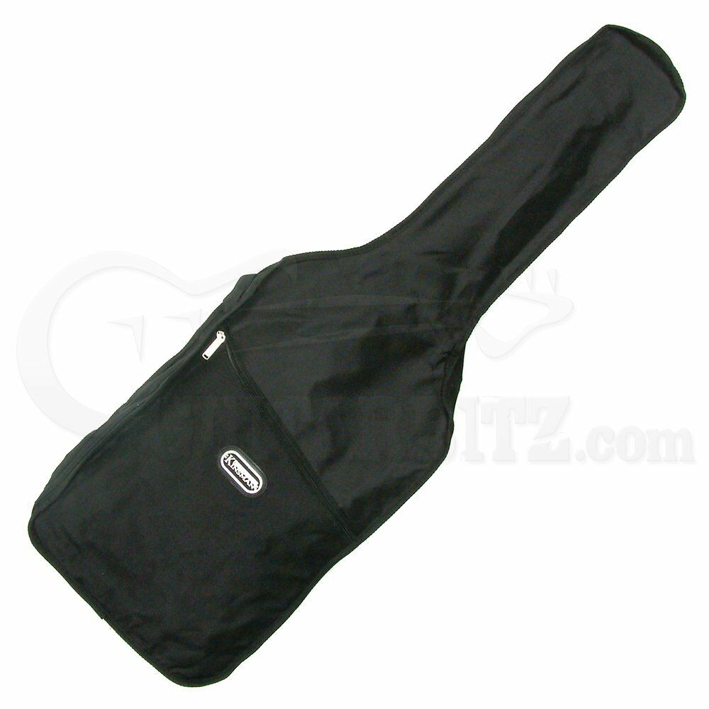 Kinsman KSEG8 Soft Guitar Bag with Shoulder Straps for Electric Guitars