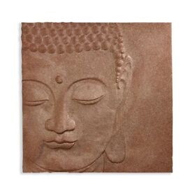 Stunning Copper Coloured 3 D Glitter Buddha Picture from Arthouse