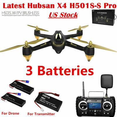 Hubsan H501S PRO X4 Drone 5.8G FPV Brushless 1080P Quadcopter GPS RTH RTF,H501SS
