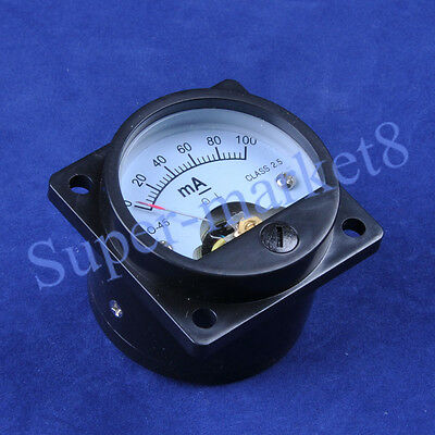 100ma Panel Meter F 300b 211 845 6550 Tube Amplifier