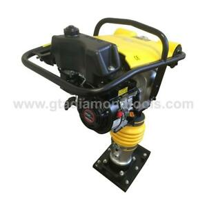 Pavement Rammer-Jumping Jack-tamper plate-Soil Dirt Gravel Compaction BRAND NEW-Warranty